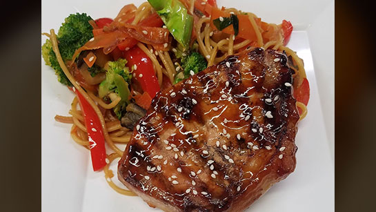 Teriyaki-Pork-with-Sesame-Noodles